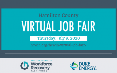 Hamilton County Virtual Job Fair on July 9